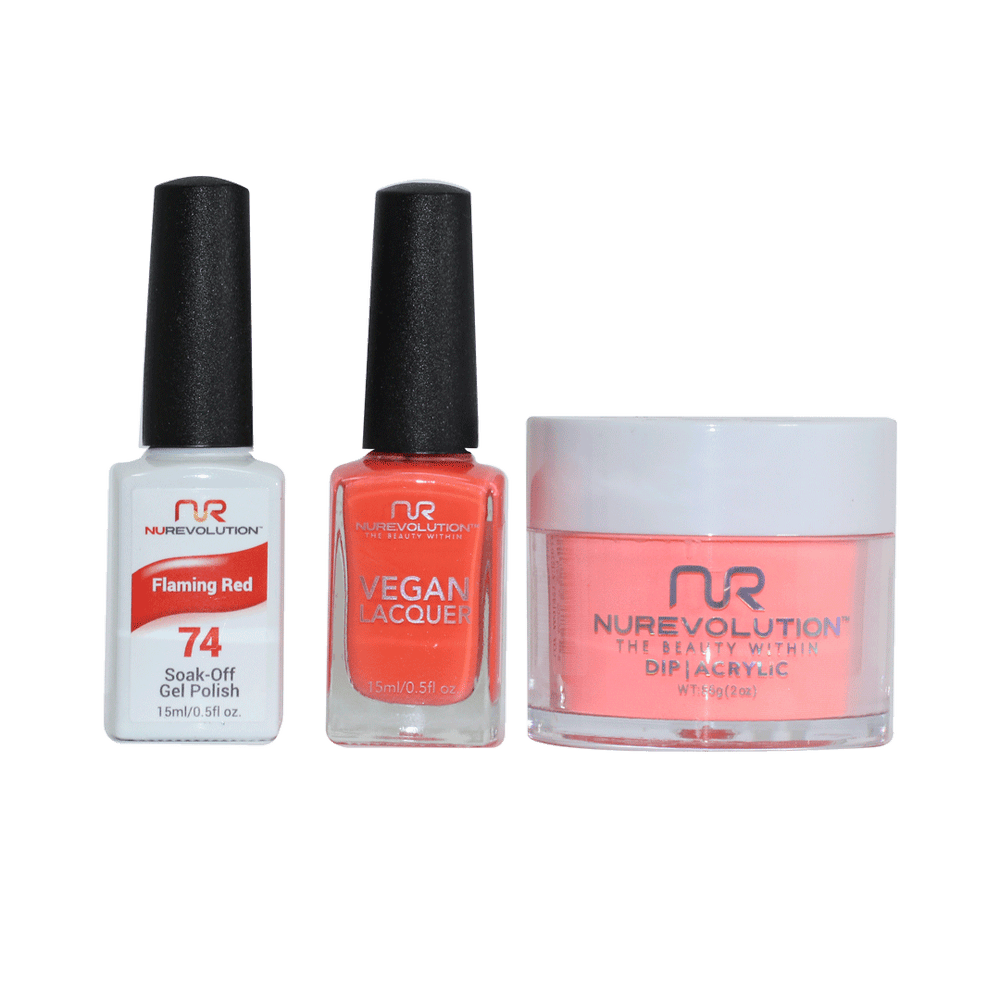 Trio 74 Flaming Red