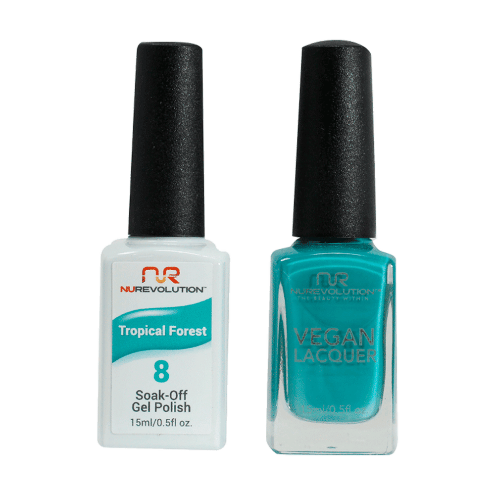 Trio 08  Tropical Forest Gel & Lacquer