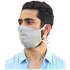 Reusable face protector