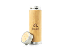 Bamboo Steel Flask