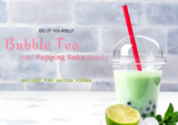 Bubble Tea met Popping Boba Parels Kit - Maak thuis je eigen Bubble Tea met Popping Parels