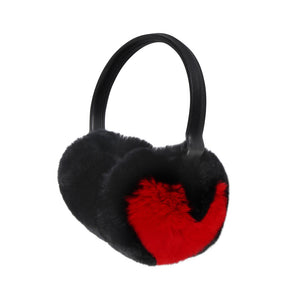HEART FUR EARMUFFS