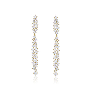 LONG CRYSTAL EARRINGS - limlim-official