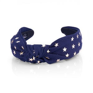 STAR TOP KNOT HAIRBAND - limlim-official