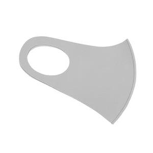 Neoprene light grey mask - limlim official