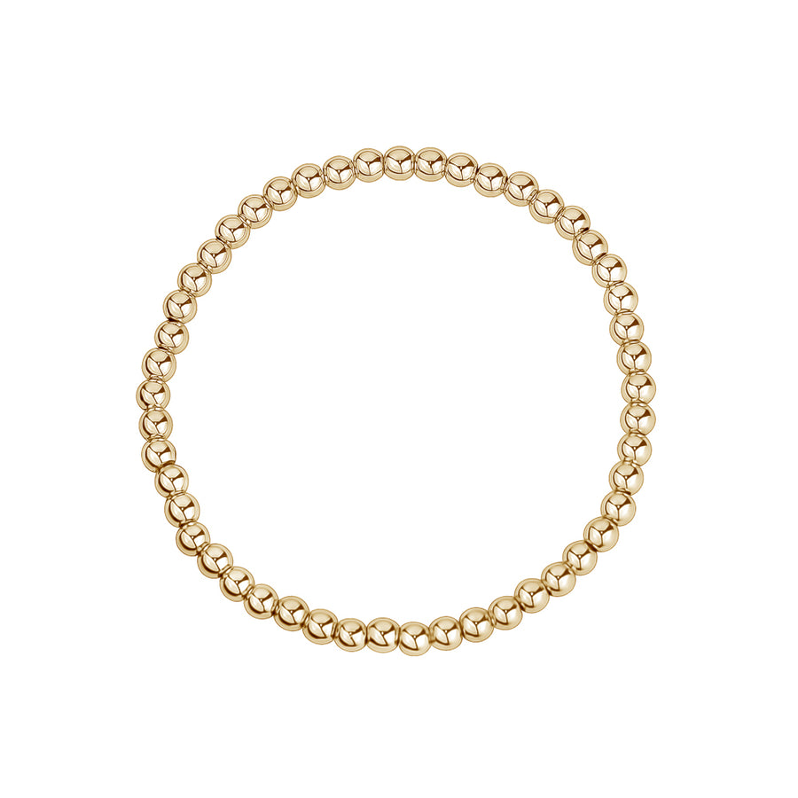 SMALL GOLD FILLED STRETCH BRACELETS - limlim official