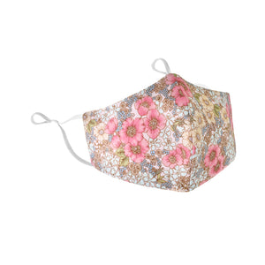 Floral garden cotton mask  pink - limlim official