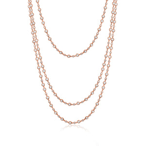 ONE METRE BEZEL NECKLACE - limlim official