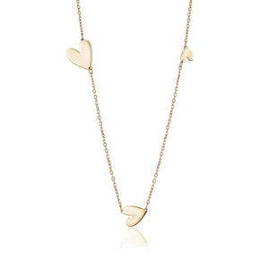 ASCENDING HEART NECKLACE