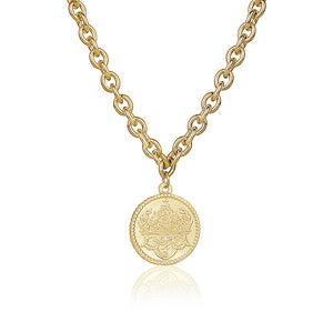 ANCIENT COIN NECKLACE - limlim-official