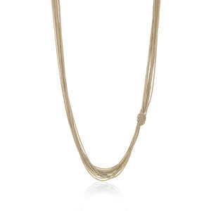 THREAD KNOT NECKLACE - limlim-official