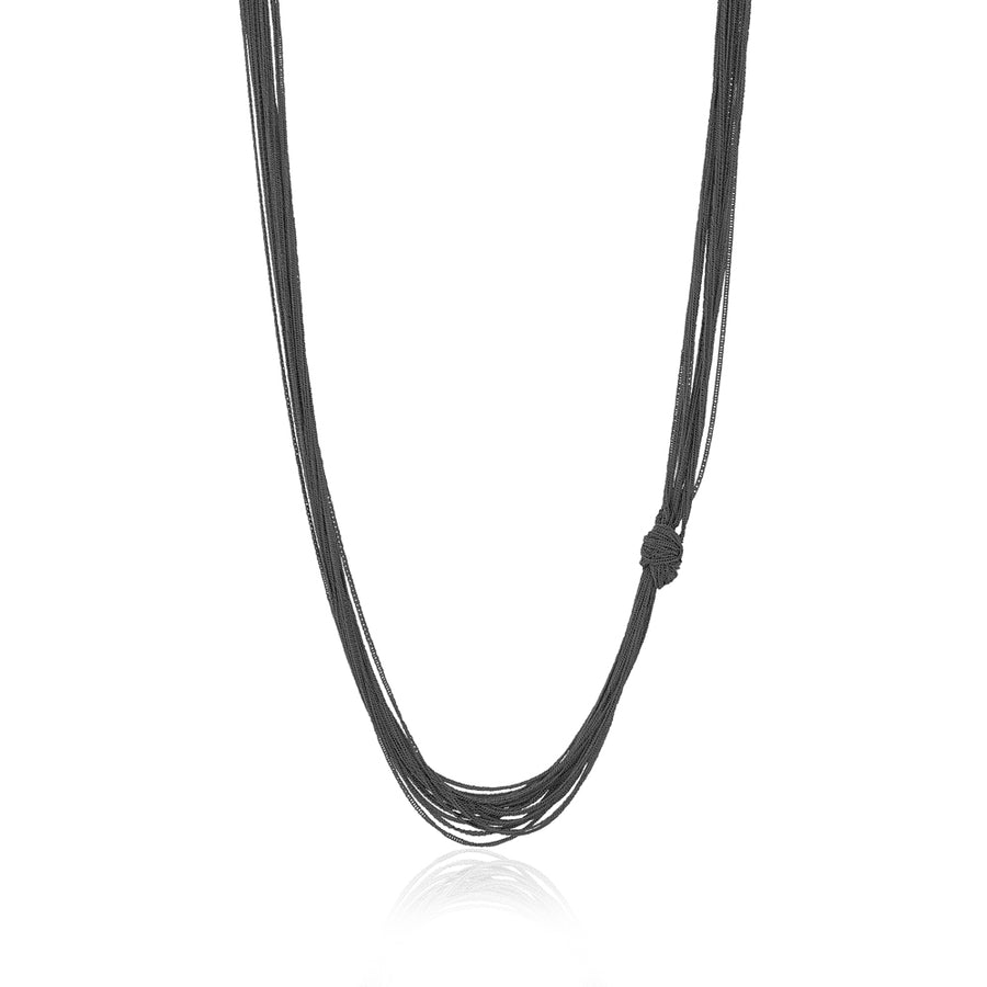 THREAD KNOT NECKLACE - limlim official