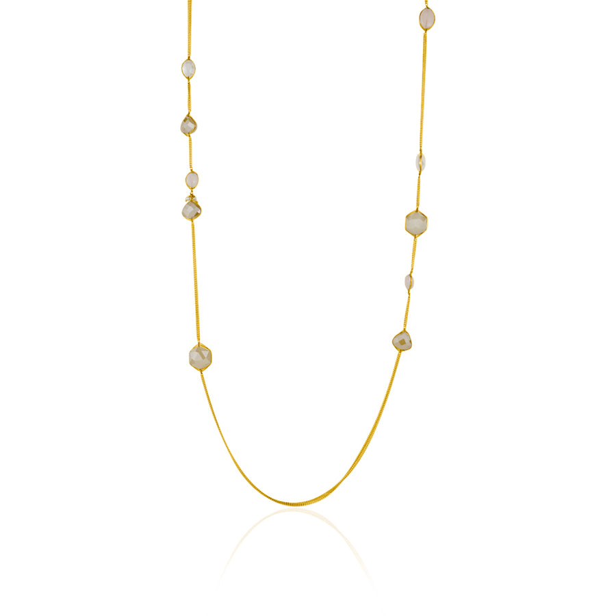 LONG GEMSTONE NECKLACE - limlim official