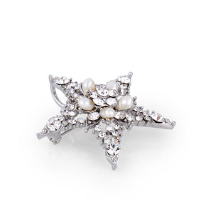STAR SWAROVSKI CRYSTAL PIN - limlim official