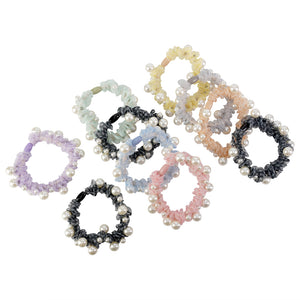 PEARL MINI SCRUNCHIES