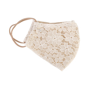 Lace luxury mask ivory - limlim official