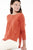 TESS pull col rond loose orange 100% cachemire