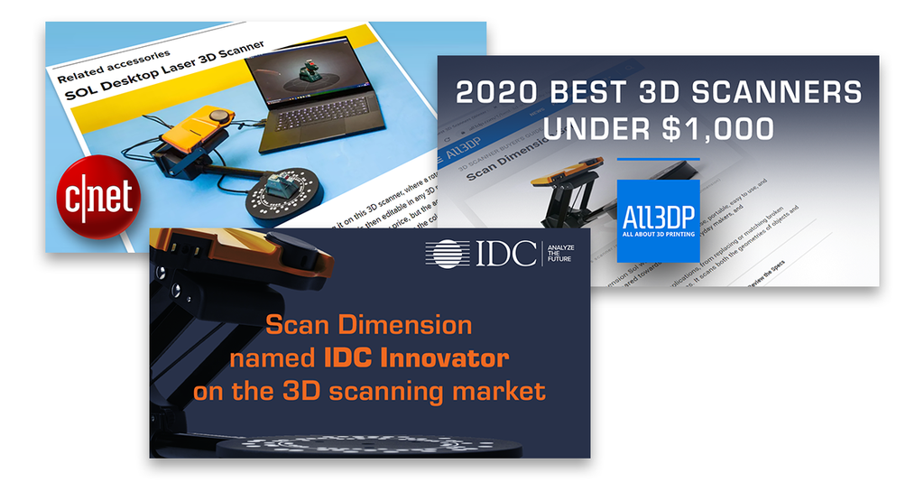 SOL 3D scanner reviews for 2020