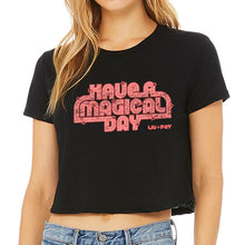 Load image into Gallery viewer, Tshirt -  Black Roller Skate Crop