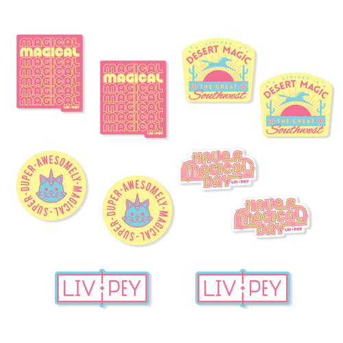 Sticker Pack - Sweet Magic (10 Pack)