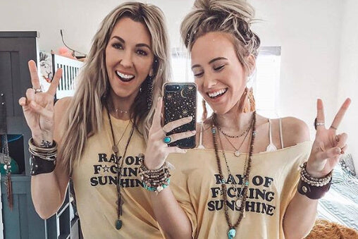 DIY: Tees Cut 2 ways with @lexxajean & @shashaffer