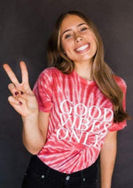 Any Design - Ruby Red Tie Dye Tees