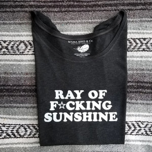 RAY OF F★CKING Sunshine Tees - Off Shoulder
