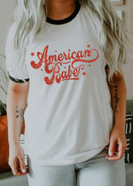 American Babe - Retro Fitted Ringer