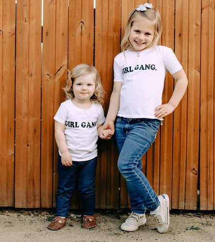 GIRL GANG, Kid's + Toddler Onesies and Tees