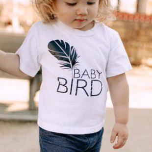 BABY BIRD, Kid's + Toddler Tees