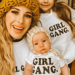 GIRL GANG, Kid's + Toddler Tees