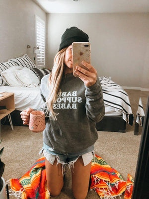 Load image into Gallery viewer, Babes Support Babes - Sweatshirts