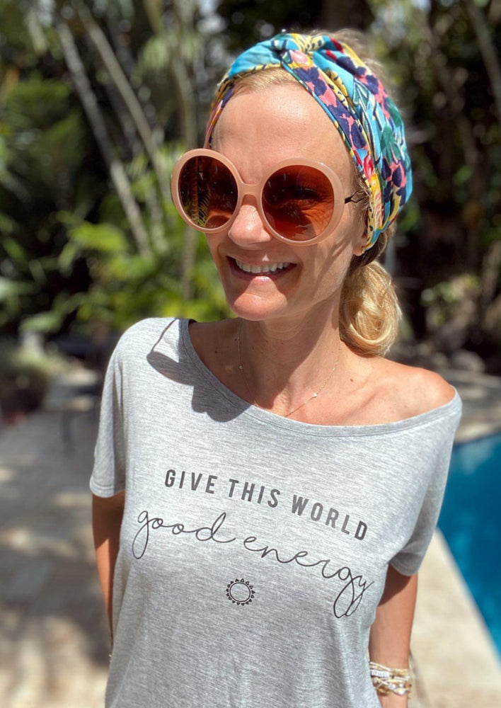 Give This World Good Energy - Off the Shoulder