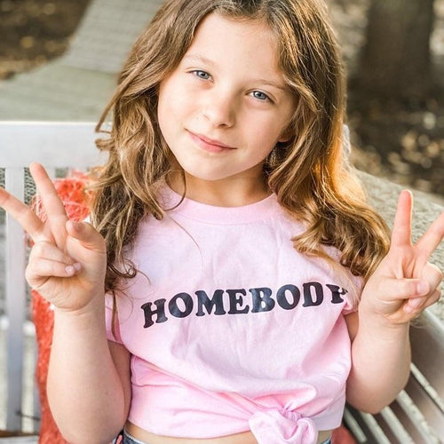 HOMEBODY Tees, Kid's + Toddler Tees - All Sizes