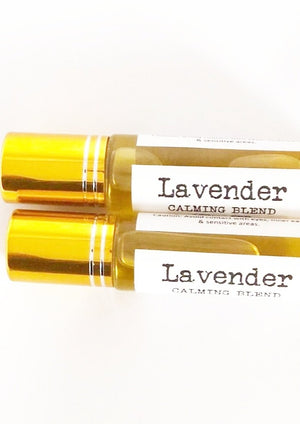 Load image into Gallery viewer, CALM- Lavender Blend Oil Roller, 10ML