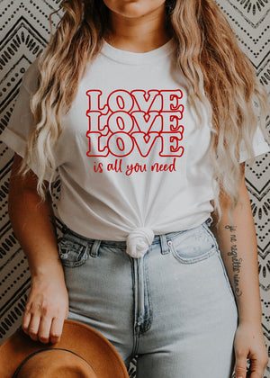 Love Is All You Need - Several Styles