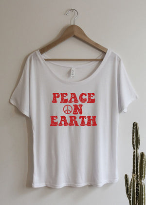 Peace on Earth, Retro - Off the Shoulder