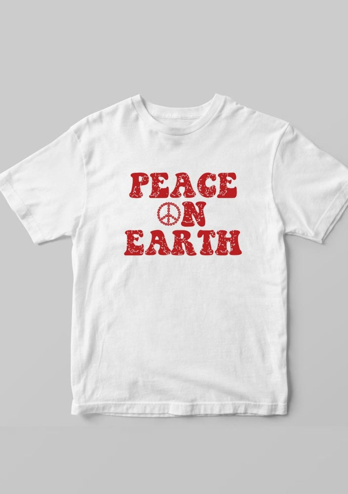Peace on Earth, Retro - Kid's + Toddler Tees