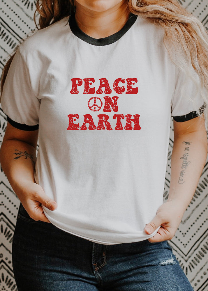 Peace on Earth, Retro - Retro Fitted Ringer