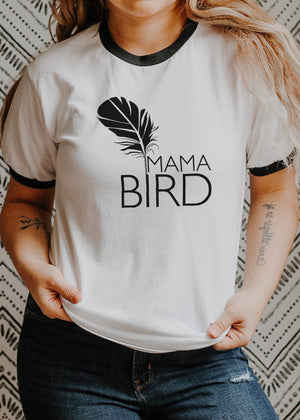 Load image into Gallery viewer, Mama Bird - Retro Fitted Ringer