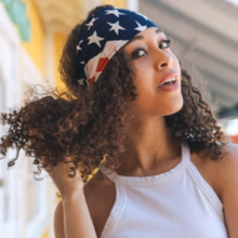 Load image into Gallery viewer, American Flag - Rag Style Headband