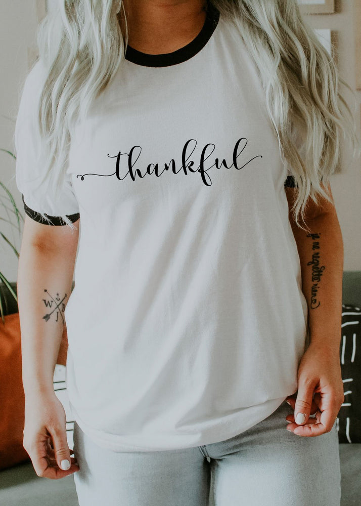 Thankful - Retro Fitted Ringer