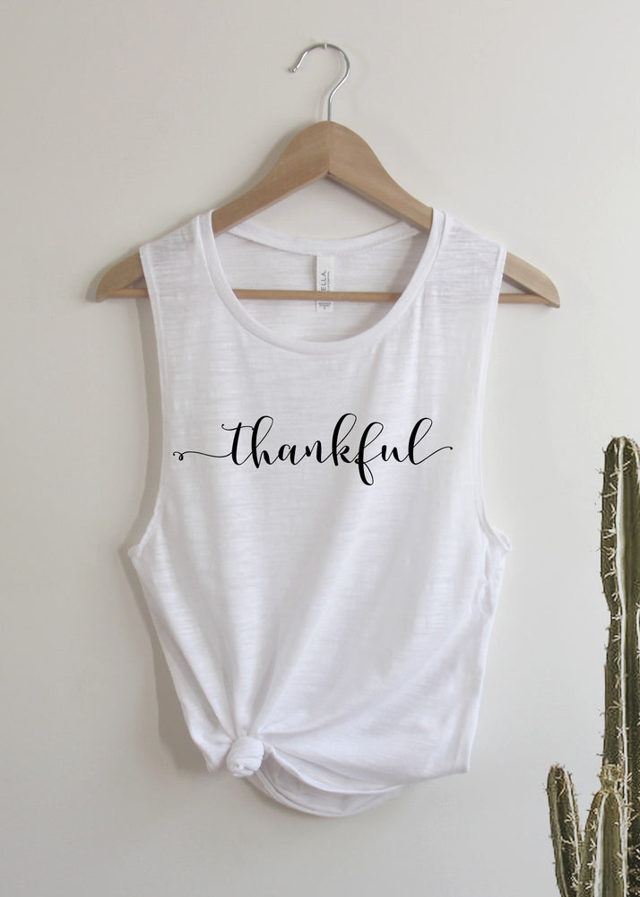 Thankful - Muscle Tank