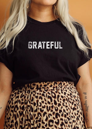 Load image into Gallery viewer, Grateful - Boyfriend Tee