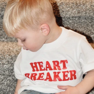 Load image into Gallery viewer, Heart Breaker - Kid's + Toddler Tees