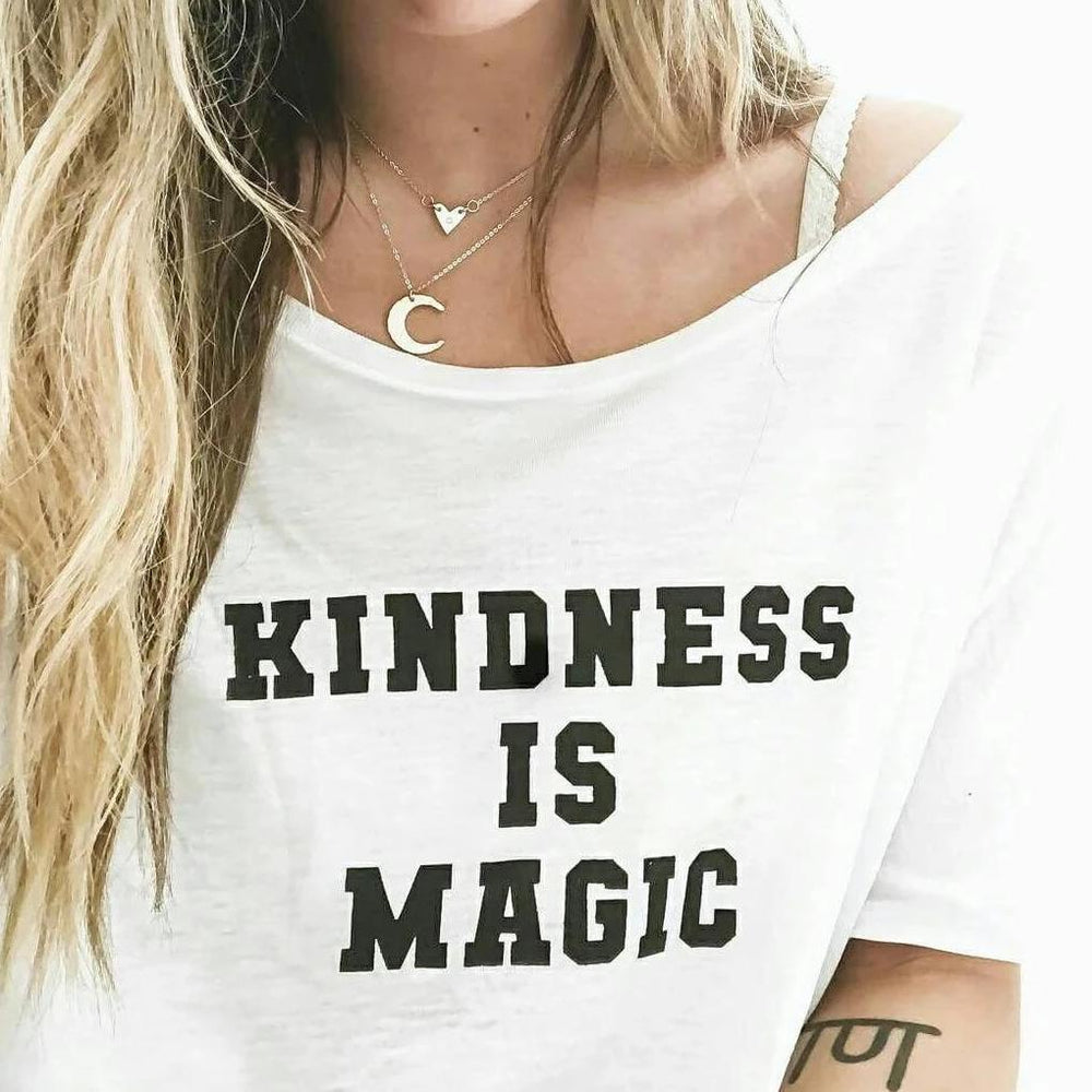 Kindness is Magic - Off the Shoulder