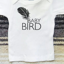 Load image into Gallery viewer, Baby Bird Tee, Baby Bird Tshirt, Baby Bird Tee, Baby Bird Shirt, Baby Gift, Baby Shower Gift