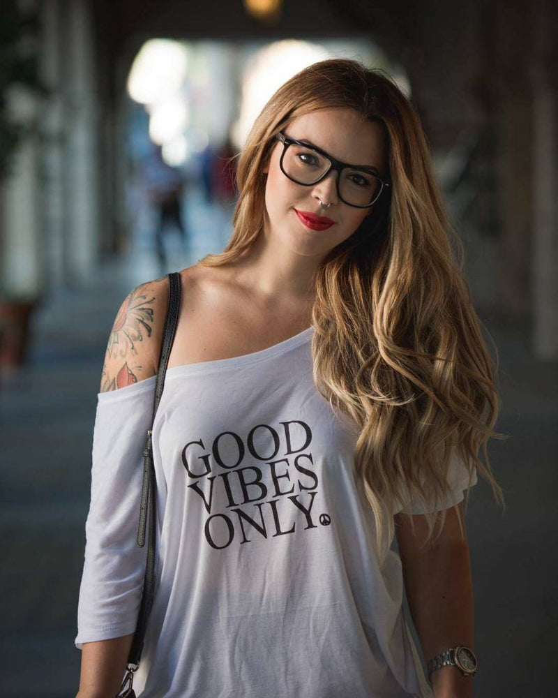 Good Vibes Only - Off the Shoulder