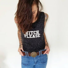 Load image into Gallery viewer, WITCH PLEASE, Witch Tee, Witchy Tee, Witch Please Shirt, Halloween Tee, Halloween Shirt, Halloween, Witch Top, Halloween Tshirt