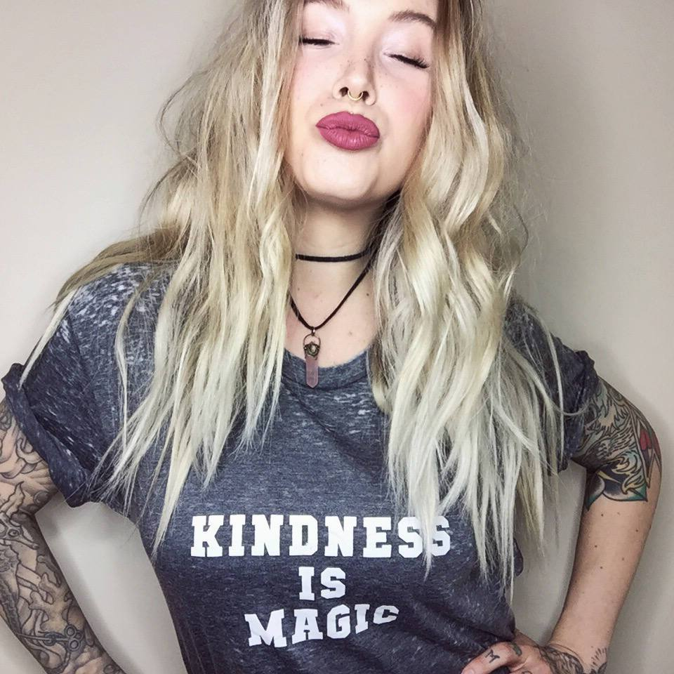 Load image into Gallery viewer, Kindness is Magic - Boyfriend Tee